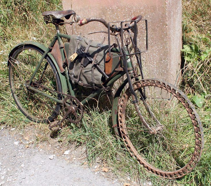 WW1 Germasn Bicycle Victoria Springwheel 1