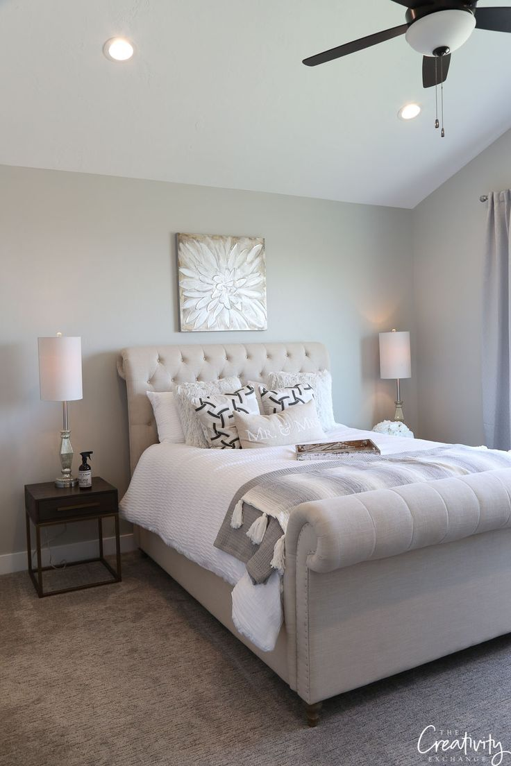 Repose Gray Bedroom: 2019 Paint Color Trends And Forecasts