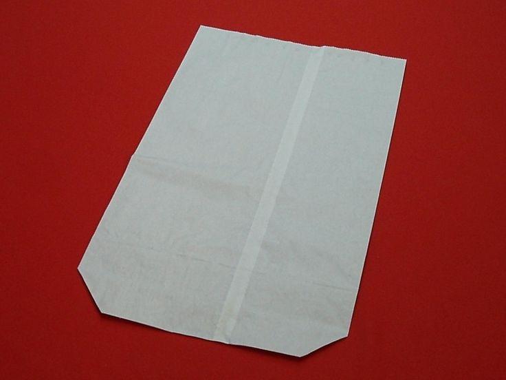 Papírový pytel bílý dvouvrstvý OL13 50x60/BN obr.