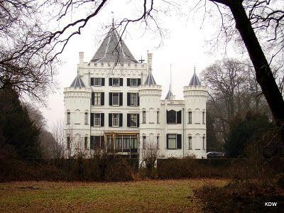 Kasteel Sandenburg in Langbroek in de provincie Utrecht