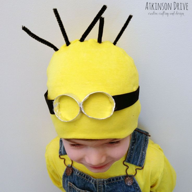 No-Sew Despicable Me Minion Halloween Costume