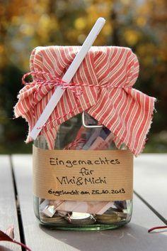 * Süchtig nach...: [DIY] Hochzeits-Geldgeschenke.
