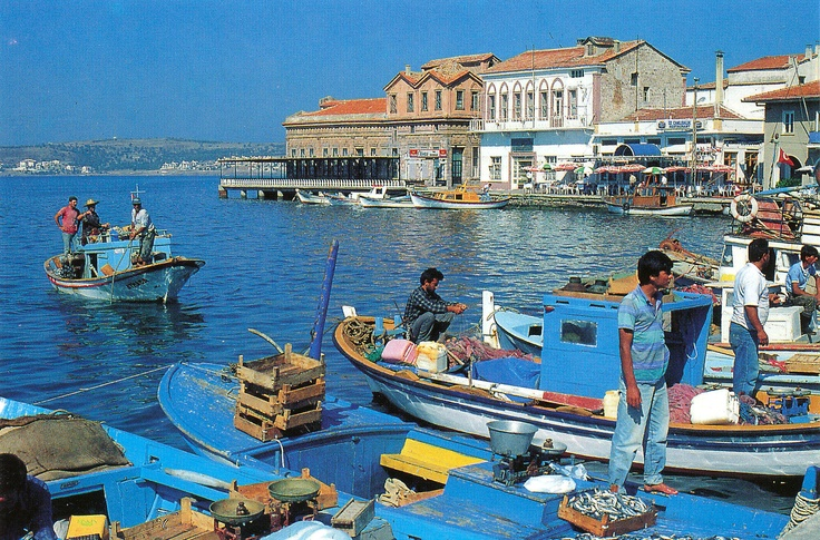 Ayvalik harbor, Turkey