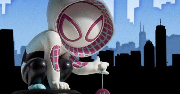 SpiderGwen Statue