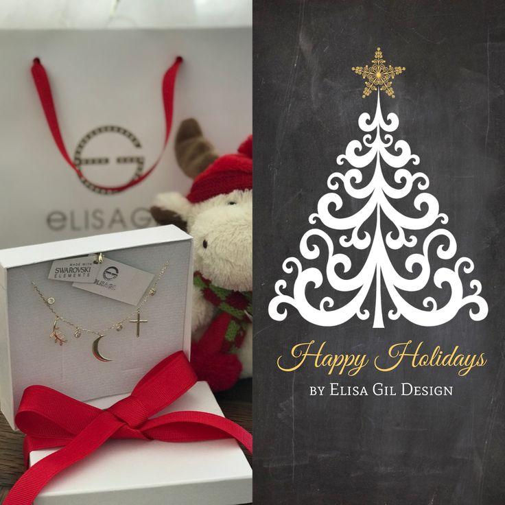 Joyería Elisa Gil #fashion #jewelry  #joyeria #gifts #collares #outfit #navidad #christmas #swarovski #elisagil #egdesigngroupmexico  #mexico #silver #gold www.elisagil.com