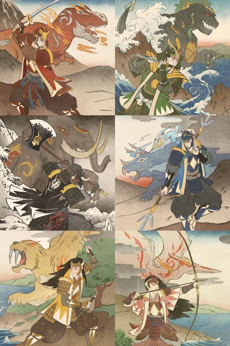 Ancient Samurai Power Warriors