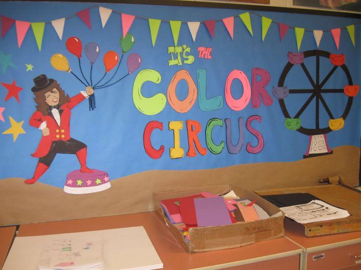 Circus Bulletin Board Ideas | Bulletin Boards to Remember: September 2011