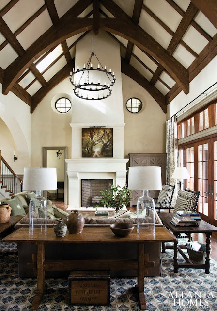 120 best images about living spaces on pinterest high ceilings fireplaces and chelsea manhattan - Fireplaces for small spaces property ...