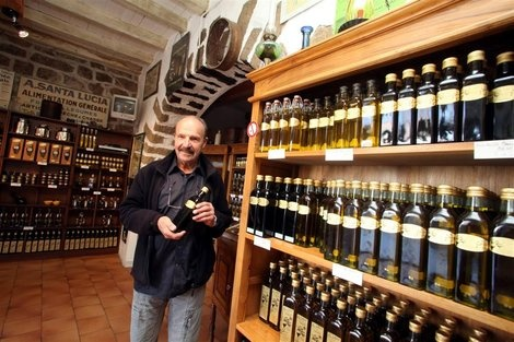 A festa di l'oliu novu à Sainte-Lucie-de-Tallano