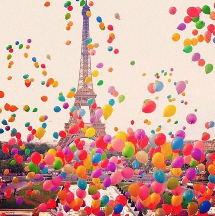 Paris balloons | La Beℓℓe ℳystère
