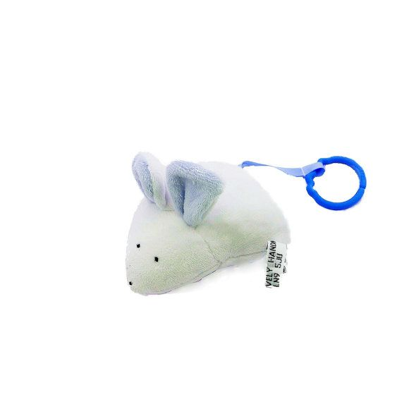 Mouse rattle. Hanging toy. Pram toy.