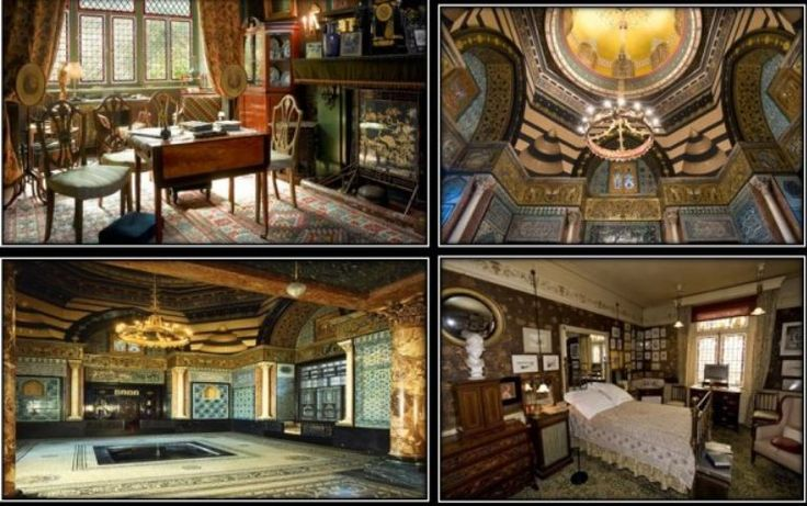 Located on the edge of Holland Park in Kensington London, Leighton House Museum and 18 Stafford Terrace are two of the most remarkable museums of the 19th century. What is your favorite room in Leighton House? http://bit.ly/1FXMK43