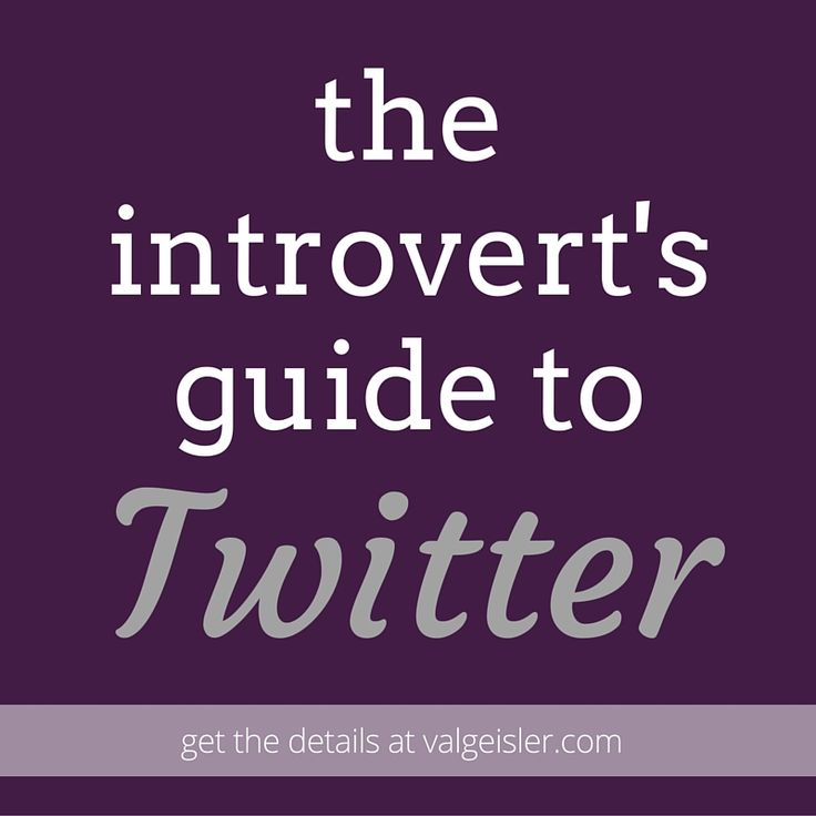 the introvert's guide to twitter