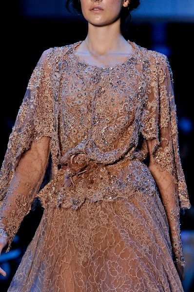 Elie Saab at Couture Fall 2011 - Details Runway Photos