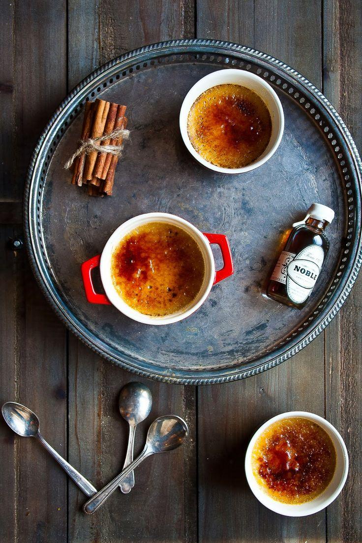 Maple Cinnamon Creme Brûlée