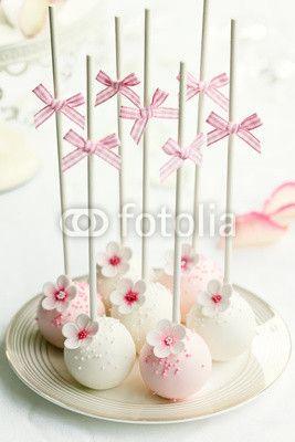 Flower cakepop