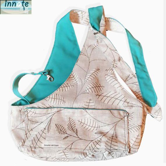 Stylish Sling bag by InnateArtisanShop on Etsy
