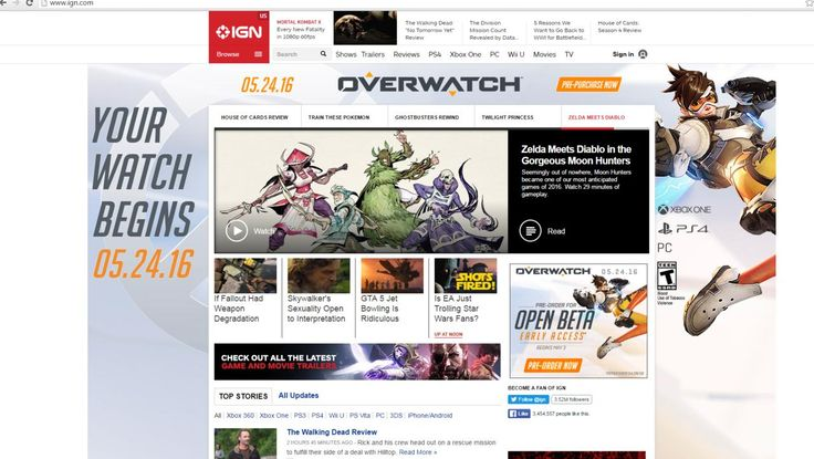 A leaked IGN advertisement shows the Overwatch release date set in May 2016, as well as news regarding the upcoming Overwatch beta.