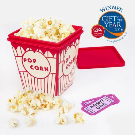 Popcornmaker von Thumbs Up jetzt im design3000.de Shop kaufen! Sie lieben Popcorn und möchten es auf gesunde Weise gerne Zuhause zubereiten? Der...
