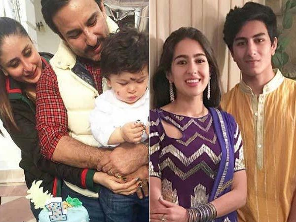 Kareena Kapoor And Saif Ali Khan Celebrated Taimur Ali Khan S First Birthday At Their Royal Pataudi Palace Their Close Frien Sara Ali Khan Kareena Kapoor Khan