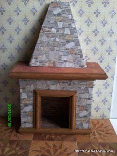 hola a tod@s , como os prometí aquí teneis el tutorial completo de la chimenea, he tardado un poquito en ponerlo porque ando liaillo. Pués c...