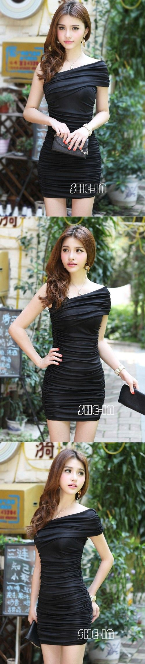 Sexy Black Cocktail Dress - $18