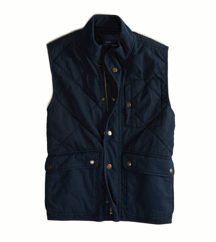 Michael AE Quilted Field Vest