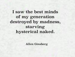Howl -Allen Ginsberg