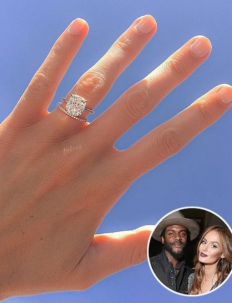 Model Nicole Trunfio Shows Off Gorgeous Wedding Band From Husband Gary Clark Jr