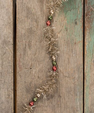Another great find on #zulily! Bead & Tinsel Garland #zulilyfinds
