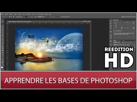Apprendre les bases de Photoshop CS6 [REEDITION HD] - YouTube