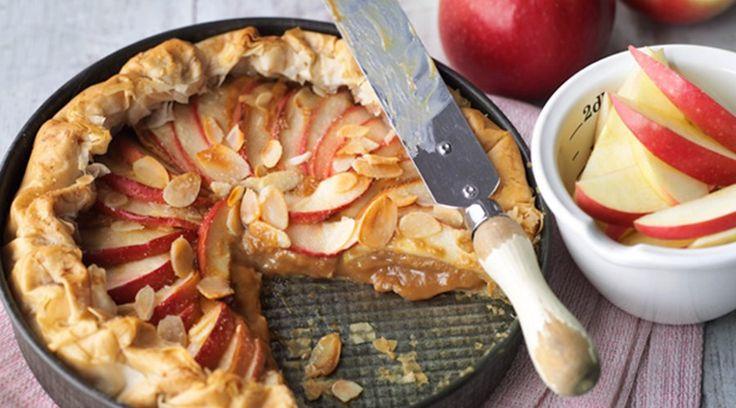 <h1>Pink Lady® toffee apple tart</h1>