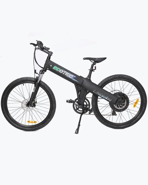Electric Mountain Bike 2018 Matt Black