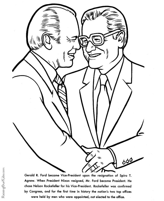 presidents coloring pages printable - photo#32