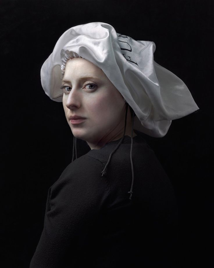 HENDRIK KERSTENS, 1956, THE HAGUE, THE NETHERLANDS Flemish Art inspired Portraits and Headress recreated with Modern Materials