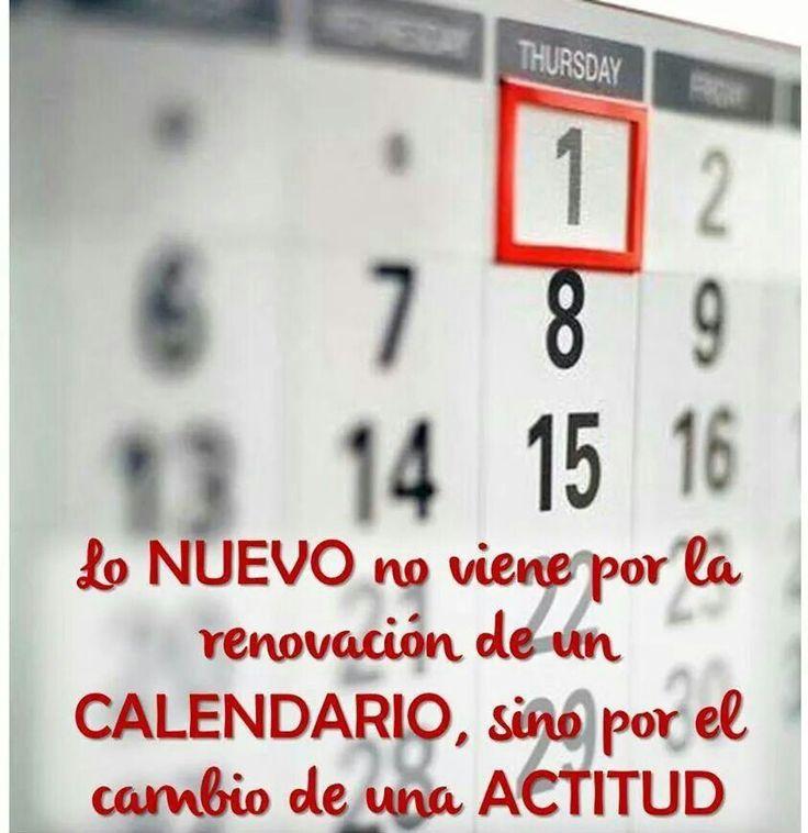 Nuevo año...¿Nueva actitud? #nuncaestarde #motivacion