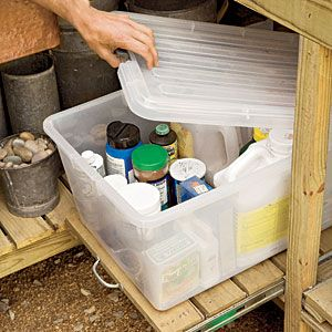 how to stop mold and mildew in garden sheds