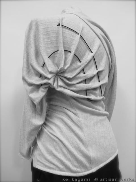 Creative Patternmaking - fashion design detail using fabric manipulation…