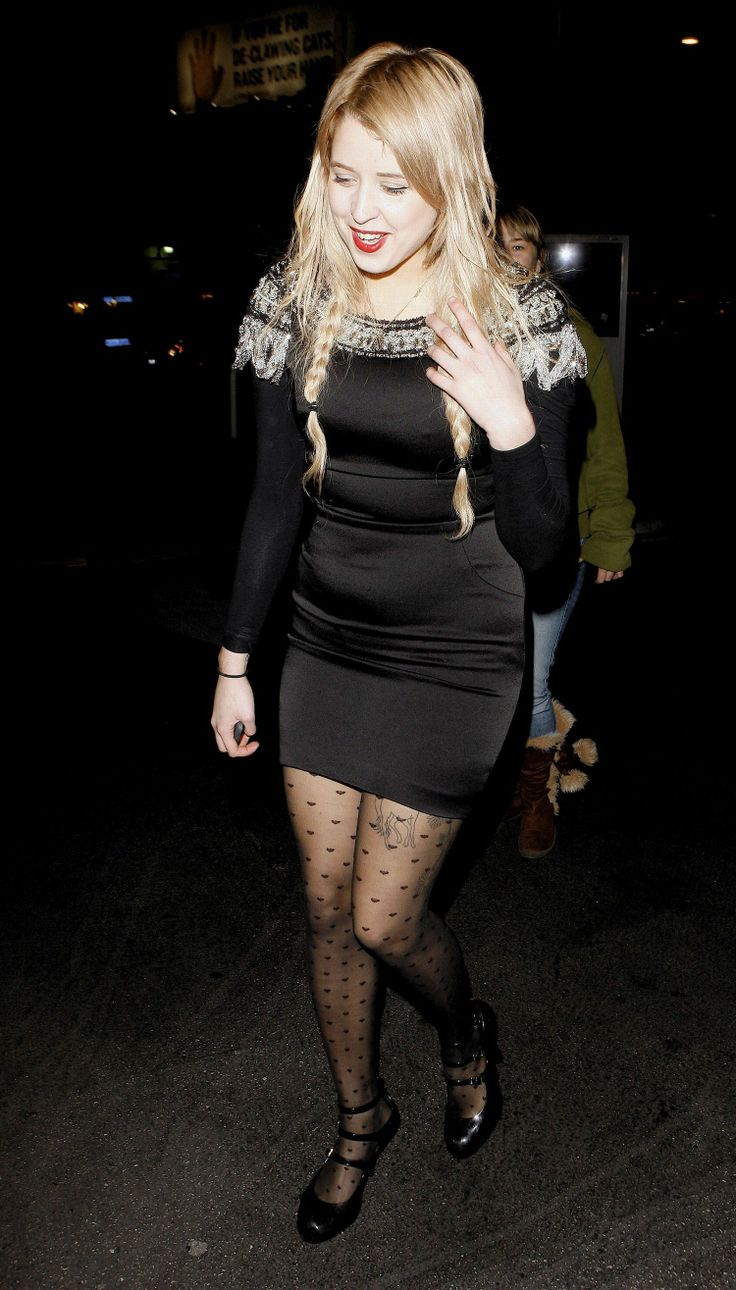 Peaches Geldof in pantyhose - More pictures here: http ...