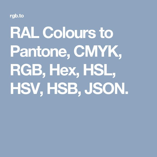 25 best ideas about pantone to ral on pinterest ral colours ceramic bowls and names for houses. Black Bedroom Furniture Sets. Home Design Ideas