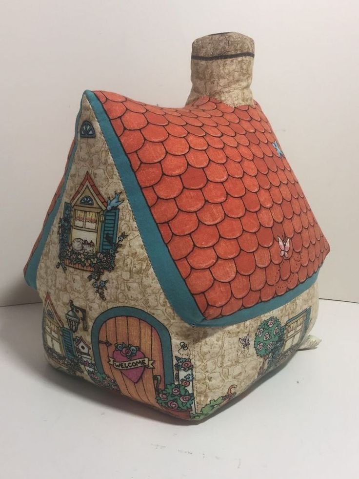 The Toy Works, Mary Engelbreit Fabric Beanbag Cottage House Door Stop, USA #MaryEngelbreit