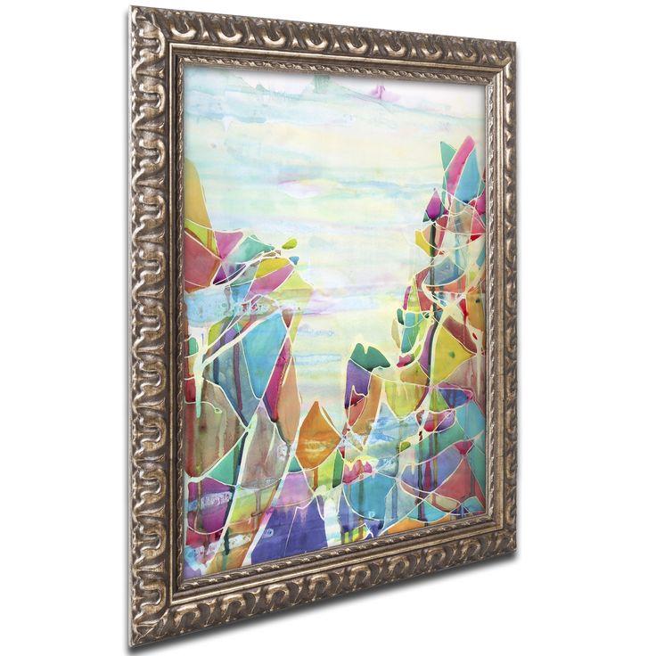 Lauren Moss 'Pico de Orizaba' Ornate Framed Art