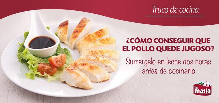La carne de #POLLO es una de las mejores que podemos comer. Con este #TRUCO, además, conseguirás que esté mucho más tierna y jugosa.