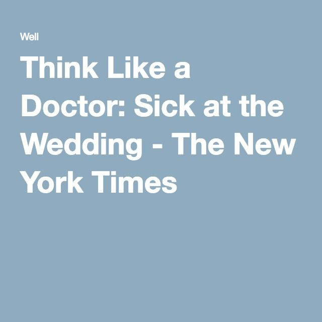 how to think like a doctor