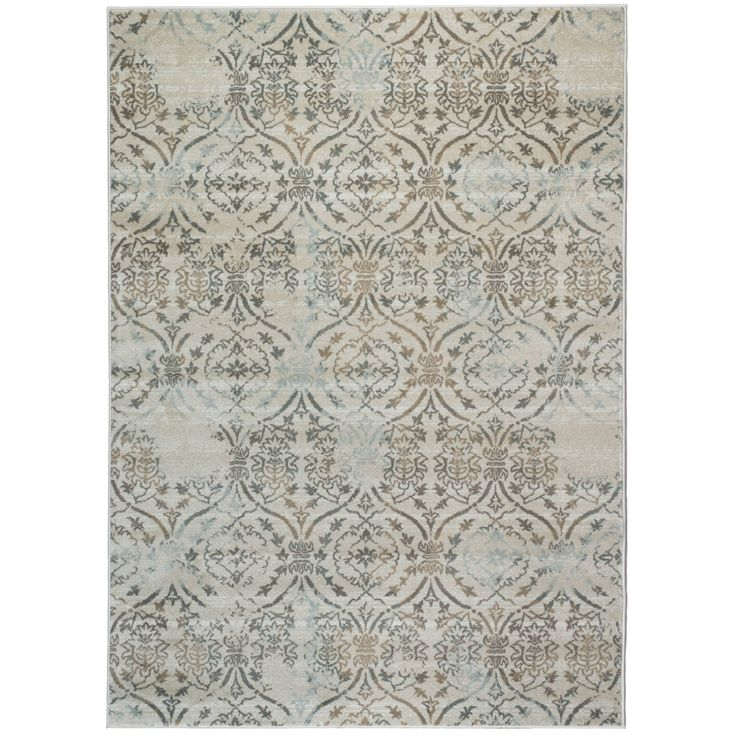 Admire Home Living Brazil Area Rug (7'10 x 10'6) (Beige 7'10 X 10'6) (Olefin, Abstract)