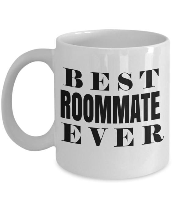 Gift For Roommate Funny Present Best Seller College Roomie Christmas Birthday Gift room mate Men Women Coffee Travel Mug Dorm Room by GoodGiftCreation…