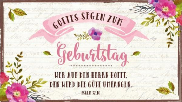 Schokolade Geburtstag Wer auf den Herrn hofft   Bolanz Verlag e.K.
