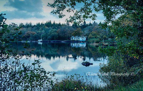 Lake by peridotphotography on Etsy, €30.00