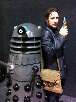 Doctor Eight and a Dalek.  Were they allies in the Time War?