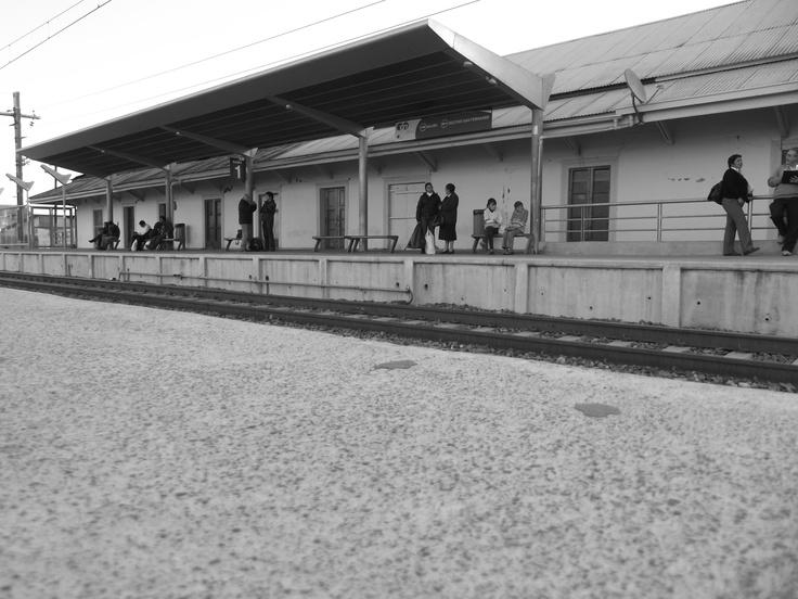 Estación MetroTren Buin. Chile